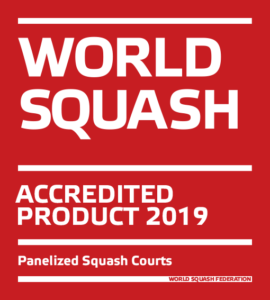 World Squash Accredited